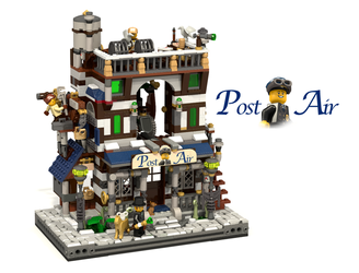 Lego Ideas:  Post Air by EndlessAges