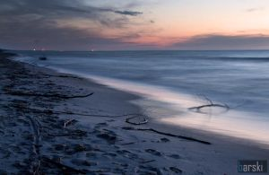 Sea in the evening by piotrb1