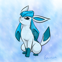Shiny Glaceon by Furreon