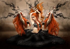 Witchcraft by babsartcreations