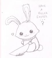 EvilBunny by Crazydeth2