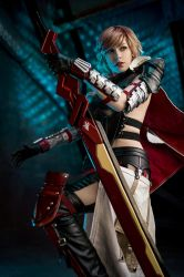 Lightning Cosplay - Final Fantasy XIII-3 by KimontheRocks
