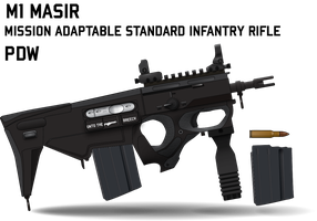 M1 MASIR Personal Defense Weapon by Afterskies