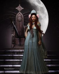 Queen of the Night 8x10 300dpi 2400x3000 by shannonmcroberts