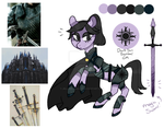 Moodboard Pony Auction [CLOSED] Dark Sun by JellyBeanBullet