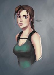 Classical Lara Croft by mistermat05