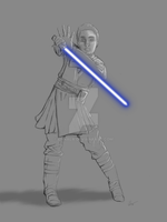 I just can't wait to be a Jedi by Ehnala