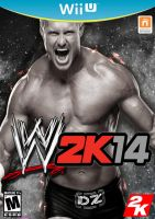 WWE 2K14 (Wii U Cover) by DJRocket