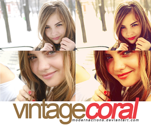 action 023 'VINTAGE CORAL' by ModernActions