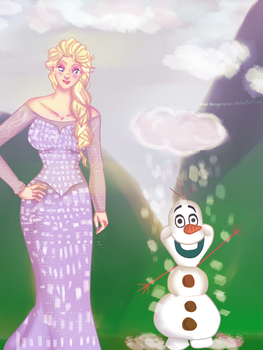an afternoon at arendelle by Soraya-Mendez