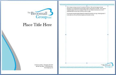Broomal Group Coversheet by brittanylynn