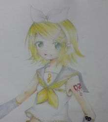 Kagamine Rin by Aria-project