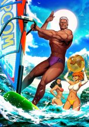 Urien - Street Fighter Summer Sports special by GENZOMAN