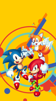 Sonic Mania Smartphone Wallpaper by Arkthus