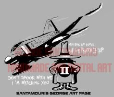 Haf F-4e Aup Phantom II Aup Grey Spook. by SANTAMOURIS1978