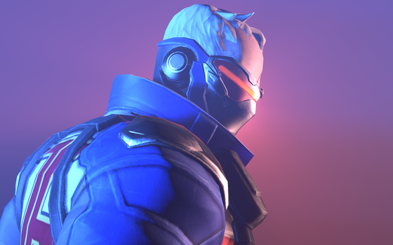 Soldier 76 (Logan style poster 3) by Drock625
