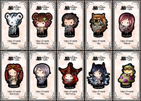 league of legends keybies II by silverei