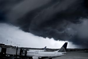 Shelf Cloud Hits Airport by MattGranzPhotography