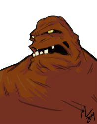 clayface by mad-arts