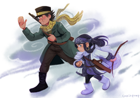 Golden Kamuy by Cirl