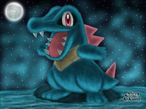 [Re-up from Mv] Totodile! by ArkaniaNEO