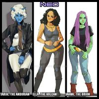 NEO.. The Band in 2374 by StalinDC