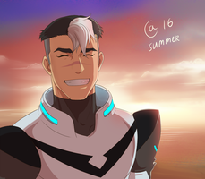 Voltron: Legedary defender - Shiro by Autumn-Sacura