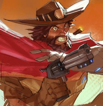 Mccree by Ramonn90