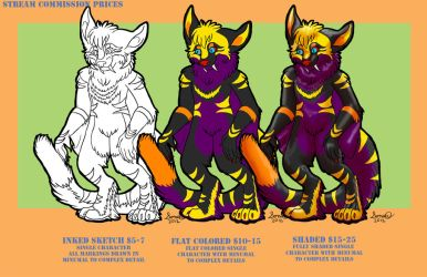 Stream price List by ElfWolfProductions