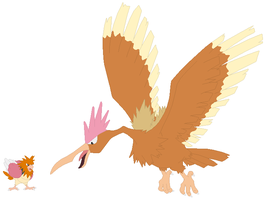 Spearow and Fearow Base