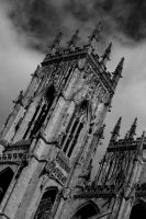 York Minster Tower by SimonHS