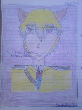 Schrodinger - The Portrait of The Messager Boy by Sheila-Sama-15