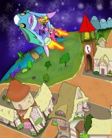 My Little Pony on the Planet Robobubloo: Take Off by lefthoovesdash