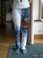 Koi Tattoo jeans by woodre