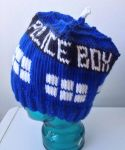 Doctor Who TARDIS Hat by holls