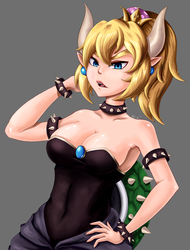 Bowsette by theklocko