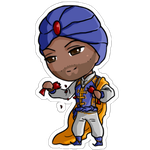 Commission chibi doll- UnboundKing by Lilith-the-5th