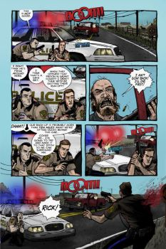 The Walking Dead Colored pg 1 by alexhdunn