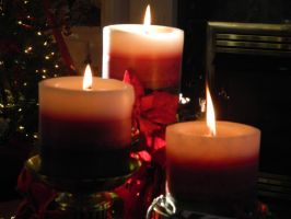 Holiday Candles by TheGnas