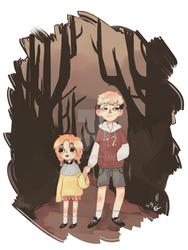 Going Into The Woods AU by AZNpplz