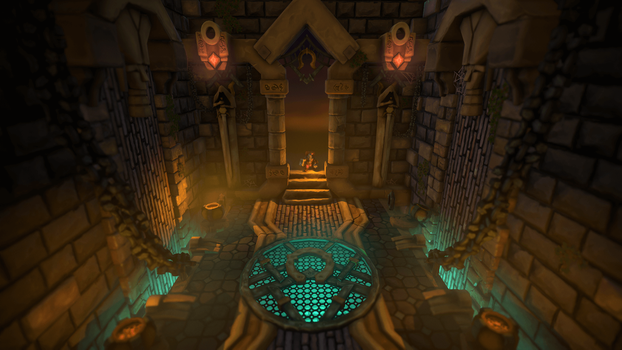Sumerian Temple Environment by AlesRot