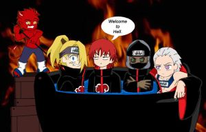 Along Came Deidara by ToonTwins