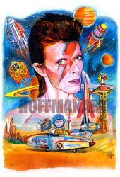 David Bowie 4 by choffman36
