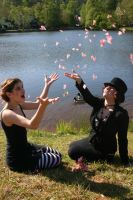 Amanda and I as Dresden Dolls by Loreley672