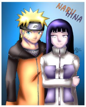 NaruHina :Outfit Switch: by TharenStorm
