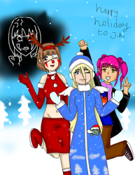 For SailorEnergy : Happy holiday! by naya123gilda