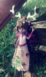 OOAK Fauna, the forest guardian -- for sale by Aohakath