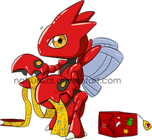 1. Favourite Bug Type: Scizor by Natsuakai