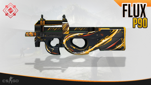 P90 | FLUX (CSGO Skin) by NoblesTeam