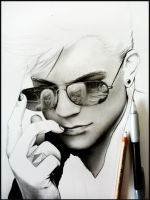 Adam Lambert -WIP1- by Cataclysm-X
